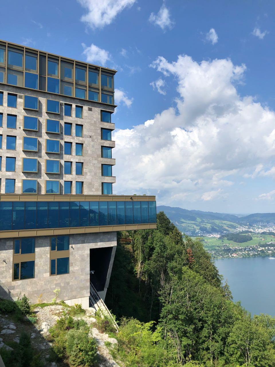 Burgenstock Resort above Lucerne Switzerland is my Favorite Resort in the World