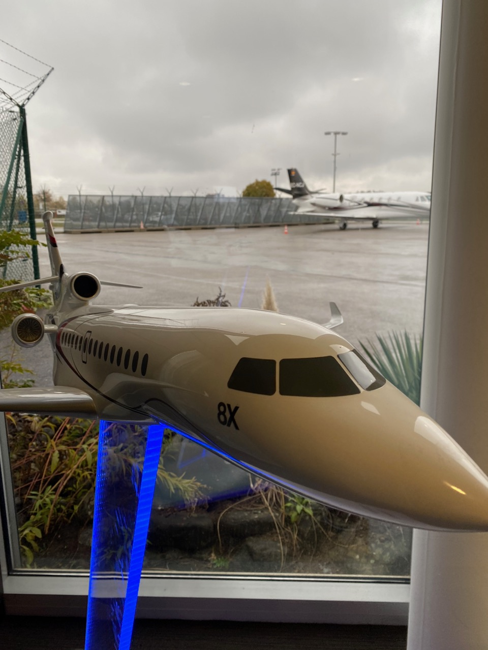 Execujet Charter Lounge at Zurich Airport