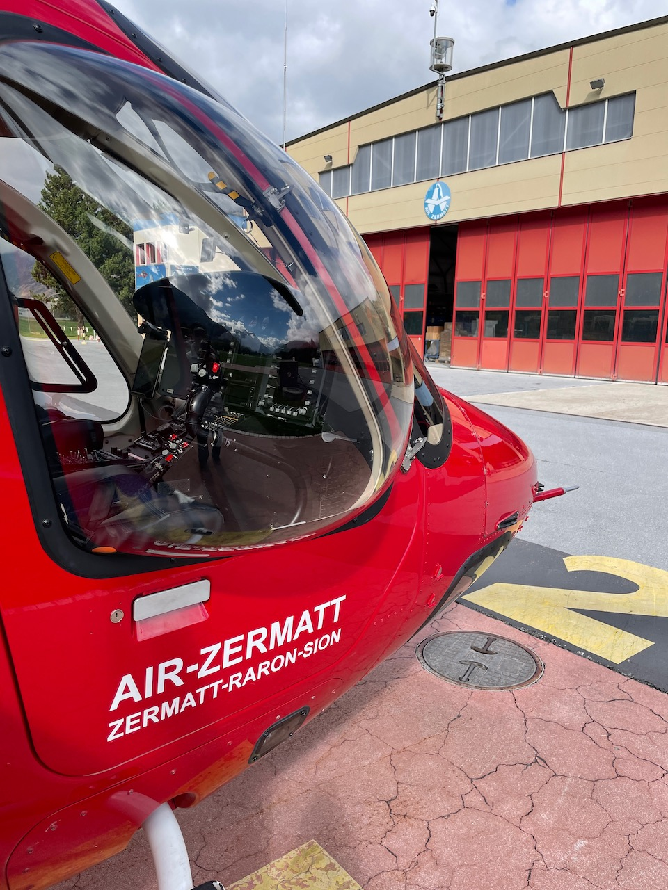 Air Zermatt offers sightseeing and charter flights for the Matterhorn and transfers to other airports and resorts