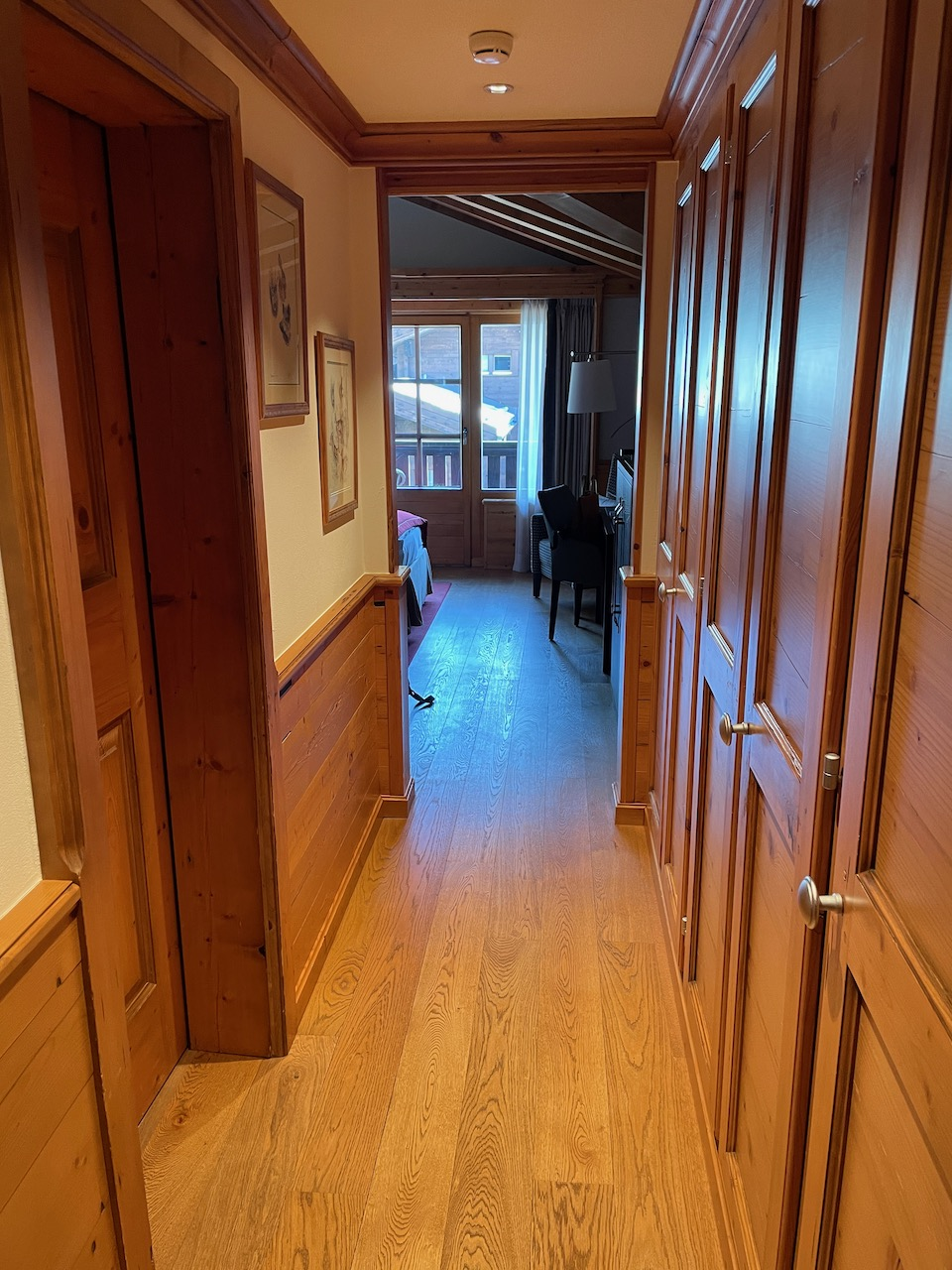 Riffelalp Room 501 Hallway