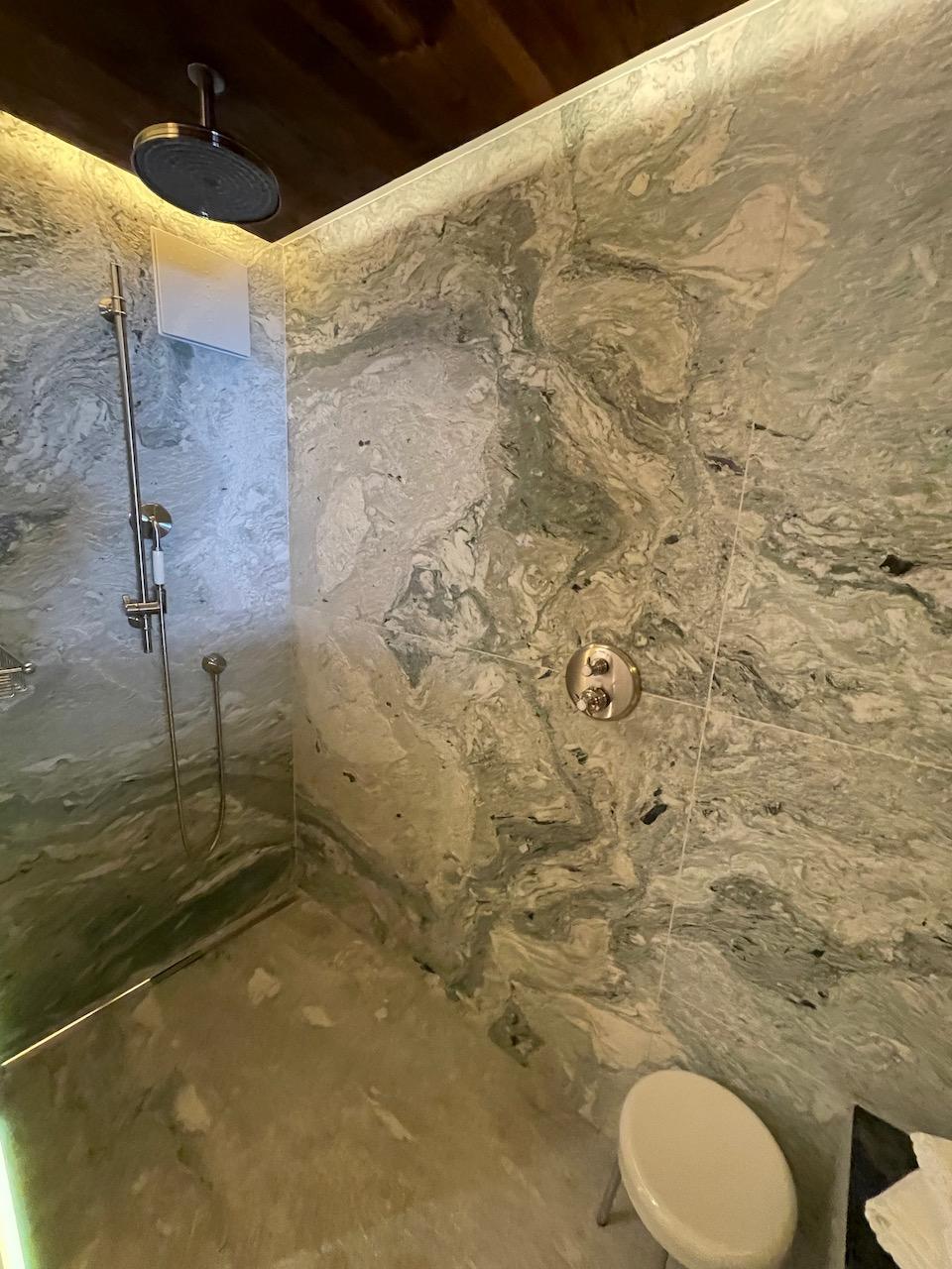 Riffelalp Room 501 Shower
