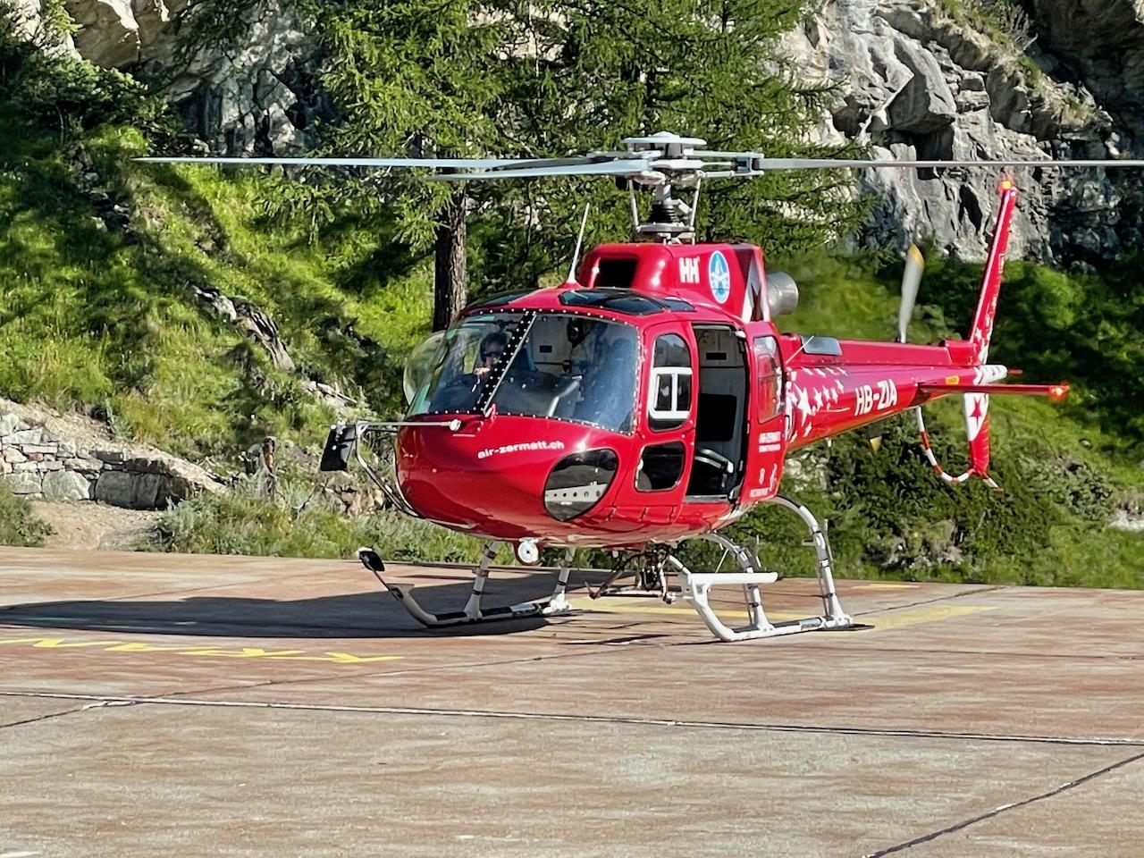 Zermatt to Burgenstock Resort via Air Zermatt