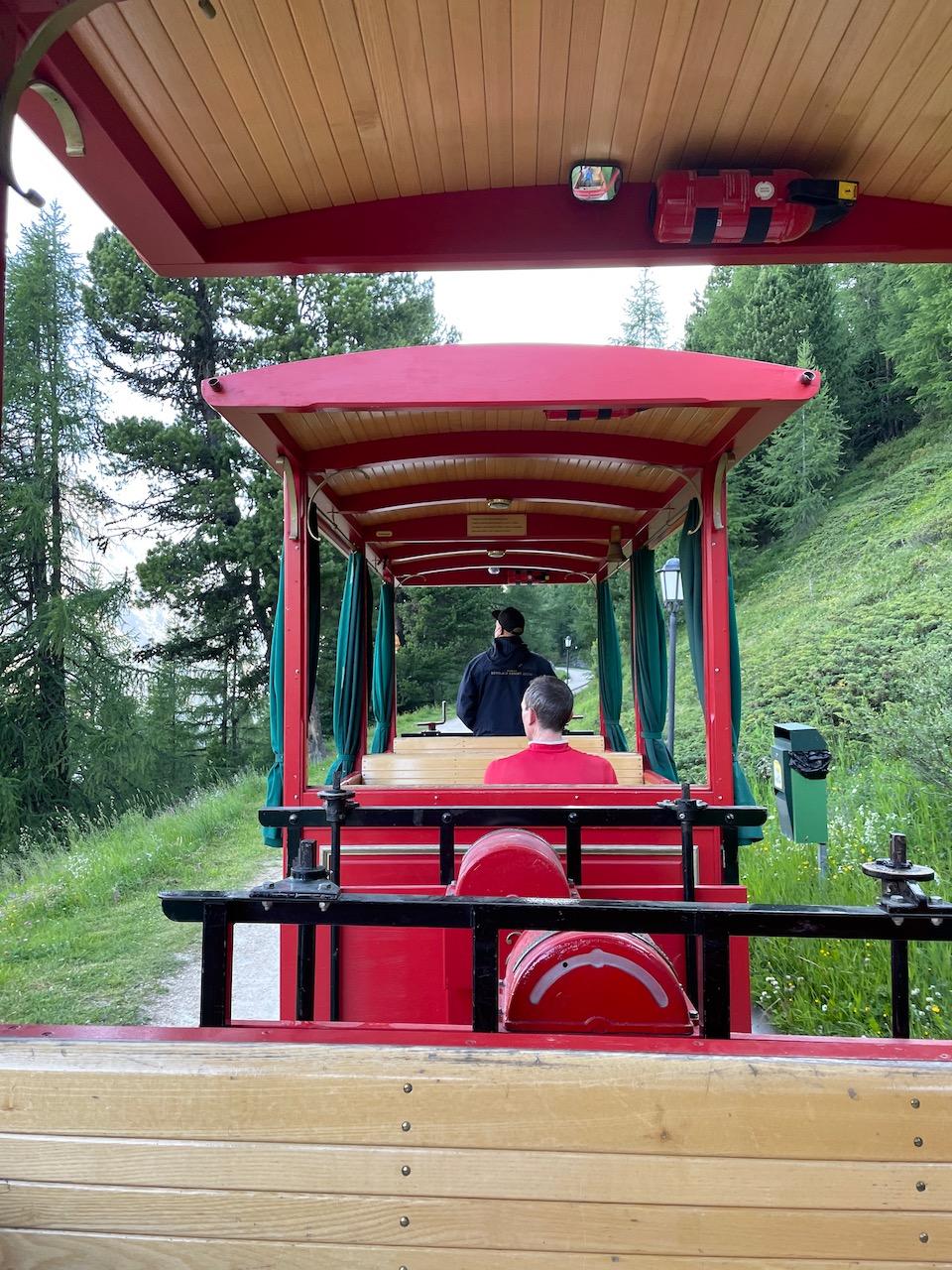Tram to Riffelalp Resort 2222