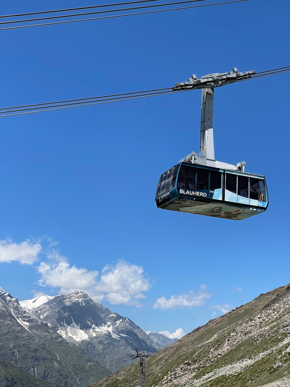 Cablecar on the Rothorn