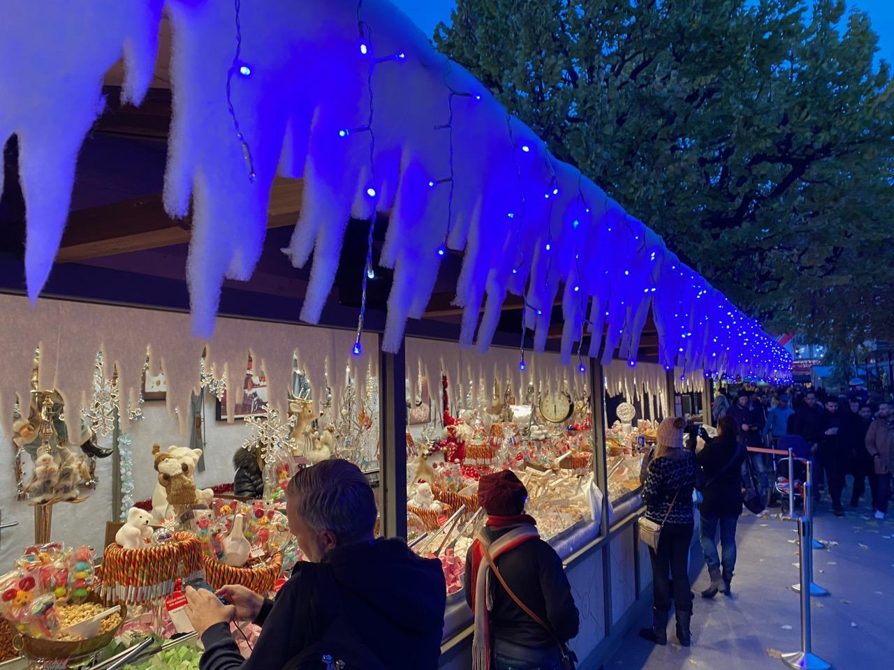 Montreux Christmas Market (Marché Noel) AirBNB Villaneuve Switzerland