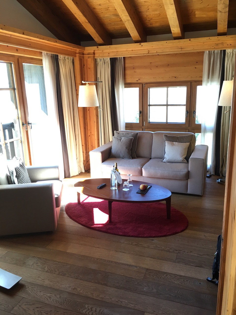 Riffelalp Suite 2222 Living Room
