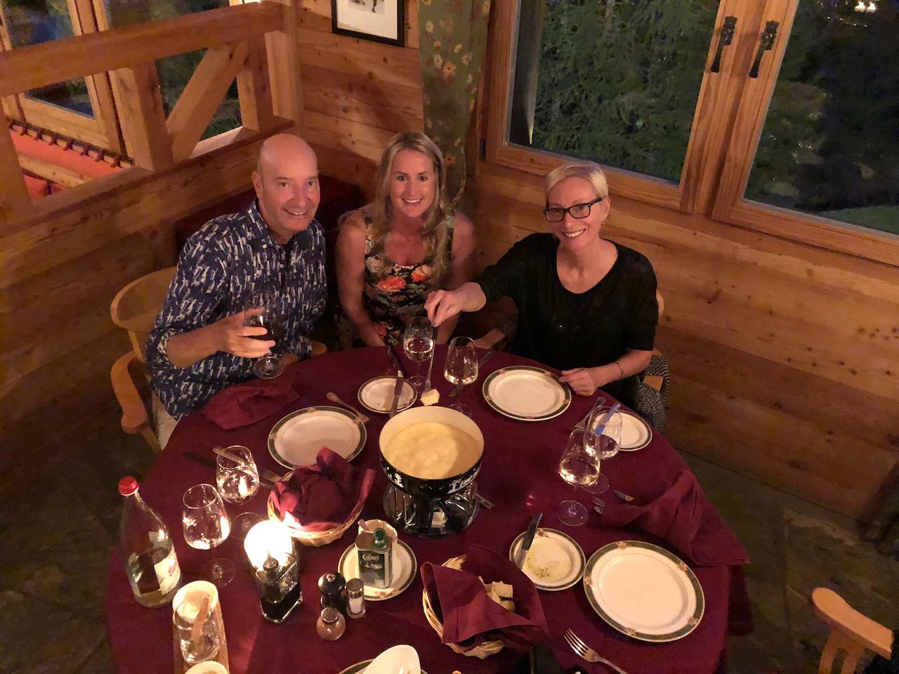 Riffelalp Fondue Dinner at Al Bosco