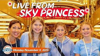 Princess Cruise Lines Sky Princess  2019 Live