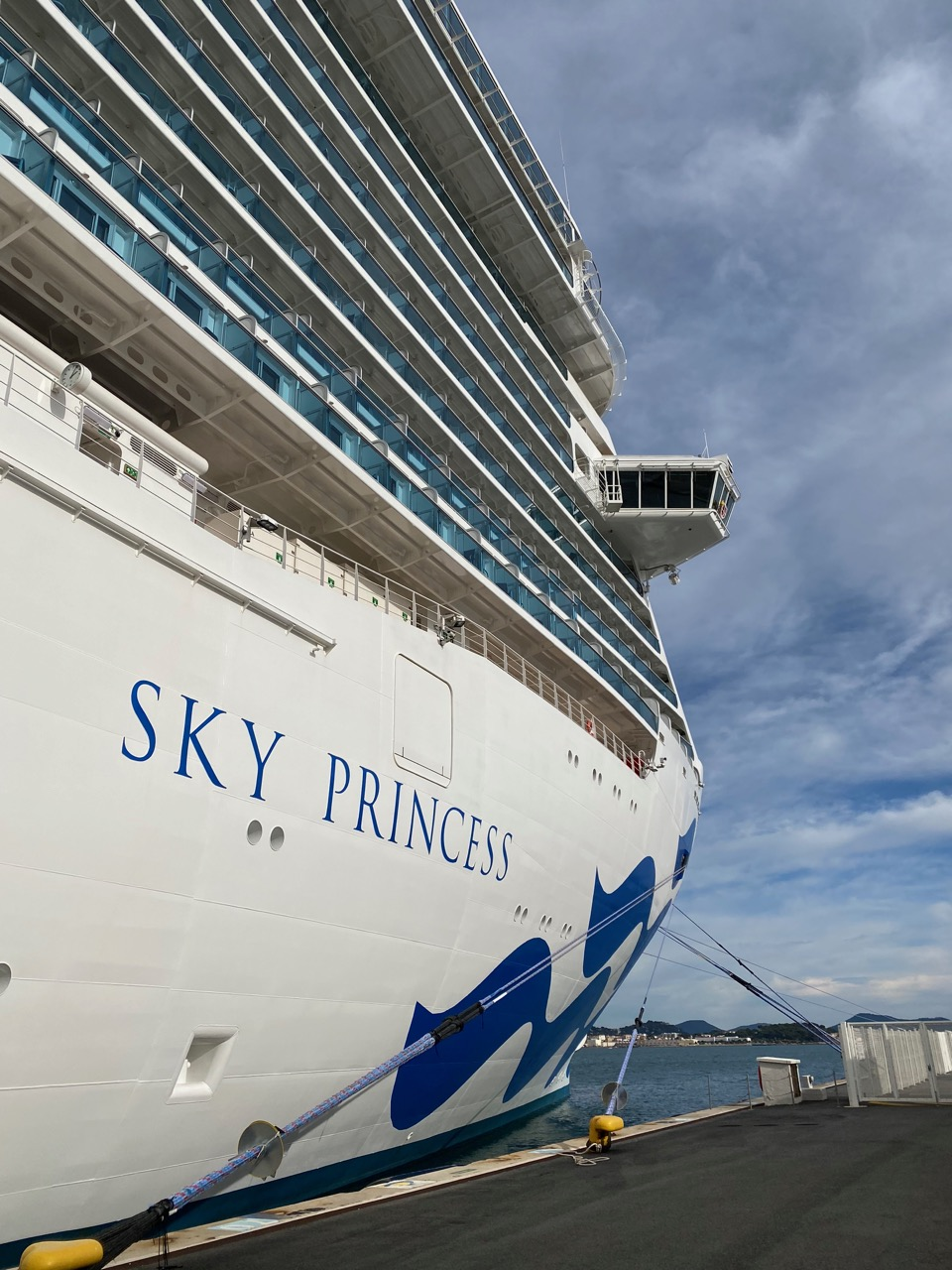Sky Princess Cruise from Rome to Barcelona at Toulon